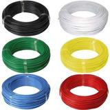 Fio Eletrico Flexivel 6mm - Rolo Com 100mts Colorido