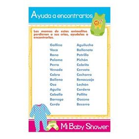 Juegos Baby Shower Para Imprimir Recuerdos Cotillon Y Fiestas En