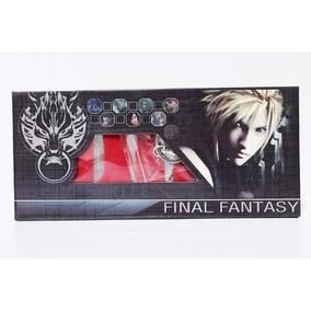 Kit 8 Chaveiro Final Fantasy Cloud Strife Espadas Sword