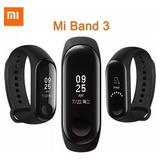 Relogio Xiaomi Smartwatch Monitor Cardíaco Mi Band 3 Novo