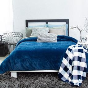 Cobertor Invernal King / Queen Size Alaska Azul Vianney