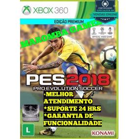 Pes 18 Xbox 360 Midia Digital Promoção Original
