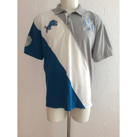 Playera Polo Detroit Lions Nfl Team Apparel Producto Oficial 7f757e7eddf