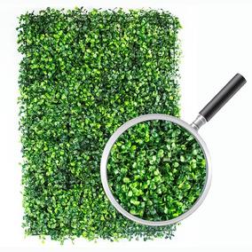 74 Pzas Muro Verde Follaje Artificial Sintentico 60x40 Cm