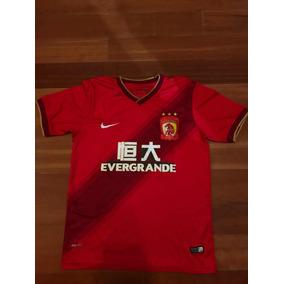 Camiseta Guangzhou Evergrande De China - Camisetas en Mercado Libre ... f1465dc7890c1