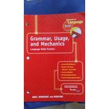 Elements Of Language: Grammar, Usage And Mechanics Grade 8