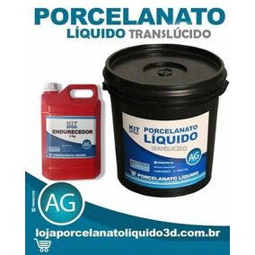 Resina Epóxi Para Porcelanato Líquido Translúcida (5 Kg)