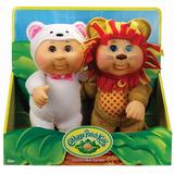 Set 2 Muñecos Cabbage Patch Kids Lion & Polar B Envío Gratis