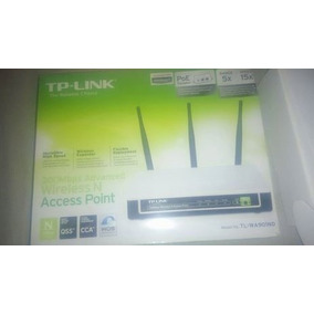 Routher Tp-link 300 Mbps Tl-wa901nd - Tres Antenas