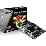 Placa Mãe Amd Gamer Asrock 970 Pro3 R2.0