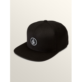ffb62ce442860 Gorra Hombre Snapback Volcom Original Quarter Twill Blk Hat