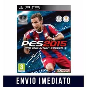 Pes 15 Ps3 Psn Pro Evolution Soccer 2015 Narracao Portugues
