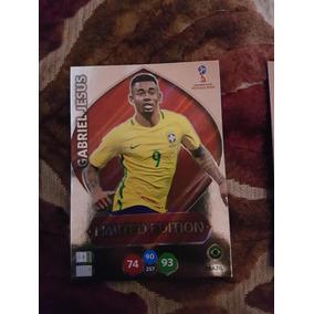 Card Adrenalyn Xl Copa 2018 Russia Limited E. Gabriel Jesus