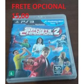 Sports Champions 2 - Ps3 - Mídia Física Cd Original
