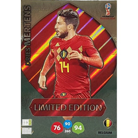 Cards Copa 2018 Adrenalyn Limited Edition Mertens Belgica