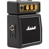 Marshall Ms 2 Mini Amplificador Ms2 Portatil Ms-2 Negro