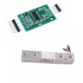 Célula Sensor De Carga Até 2 Kg + Placa Controladora Hx711