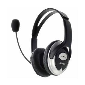 Fone De Ouvido Profissional Com Microfone Maxprint Preto/cin