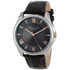 Kenneth Cole New York Mens Kc1995 Classic Grey Dial Rose Gol