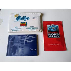 Manual Proprietário Corsa 2001 A 2002 Original Gm