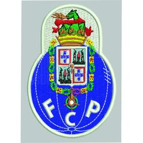 Patch Bordado Termocolante Time Porto Fc 8 Cm C/ 3