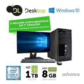 Computador Dl Advance - I5, 8gb, 1tb, Windows+ Monitor19,5