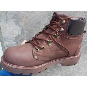 6d570f1b838 Botas Botines Cuero Suela Zapato Calzado Trekkin Trabajo Dia