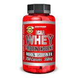 Whey Protein Isolado 250 Capsulas 550mg Bcaa Soro Do Leite