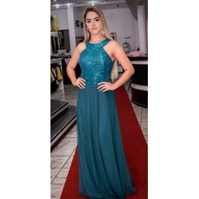 Vestido de madrinha cor azul