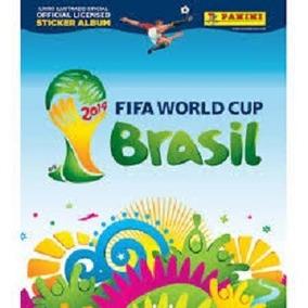 Álbum Copa Do Mundo Do Brasil 2014. Falta Apenas 17 Cromos.