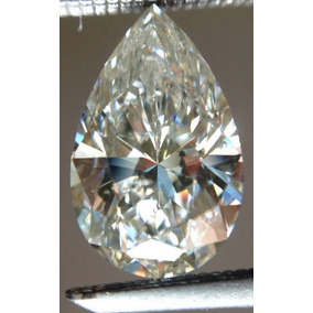 1.50 Ct Vvs1/genuino Hielo I-j Blanco Color Suelto Pera Real