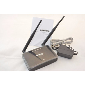 Roteador Wireless Wi Fi Intelbras Wrn300 - 300 Mbps