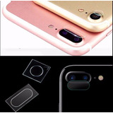 2 Películas Vidro Lente Câmera iPhone 6s 7 8 Plus