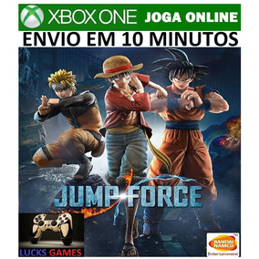 Jump Force Xbox One - Midia Digital Online - Vitalicia