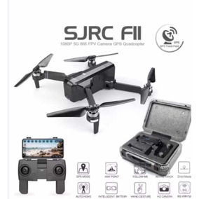 Drone Sjrc F11, Gps 1 Km, Câmera Wi-fi Fpv 5g + Maleta