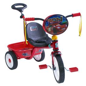 Triciclo Cars Con Barra Empuje R12