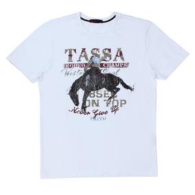 Camiseta Branca Masculina Tassa 23119 6e177f45488ee
