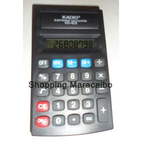 Calculadora De Bolsillo Kadio 8 Dig * Somos Tienda Fisica*
