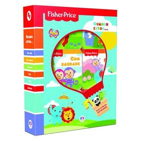 Box 6 Livros Cartonados Fisher-price - Quando Estou...