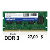 Memoria Ram Dd2 Ddr3 Laptop Y Pc