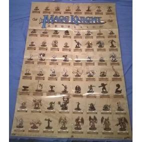 Poster Promo Com Miniaturas Mage Knight Rebellion