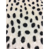 Tecido Animal Print Toque De Pelo 1,40m X 1,0m - Leopardo