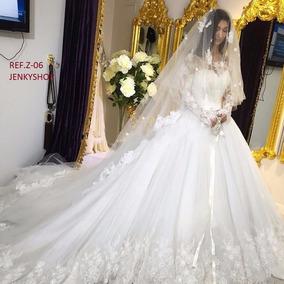 Vestidos de novia elegantes estilo princesa