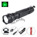Lanterna Tática Luz Verde 2000lm Comunite 501b