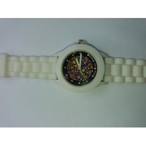 84b7f3678cd Relógio Pulso Feminino Retrô Couro Padrão Floral Dial Quartz por Olist · Relógio  Floral