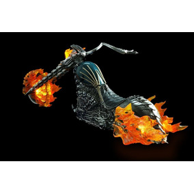 Hell Cycle Red 1/6 (hot Toys Ghost Rider Spiderman Batman)