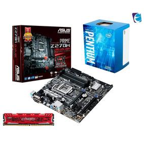 Kit Pentium G4560 Asus Prime Z270m Plus 8gb Bls Ddr4 I