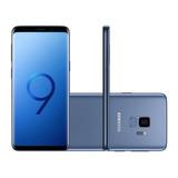 Samsung Galaxy S9 128gb Azul Completo Lacrado Nota Fiscal