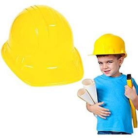 10 Cascos Tipo Constructor Infantil Fiesta Batucada Minero