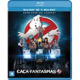Blu-ray: Caça-fantasmas 3d & 2d - Original - Lacrado